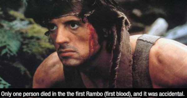 Ten movie facts to keep you entertained for your afternoon.