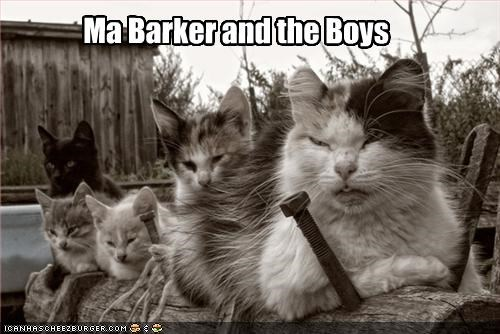 Ma Barker and the Boys