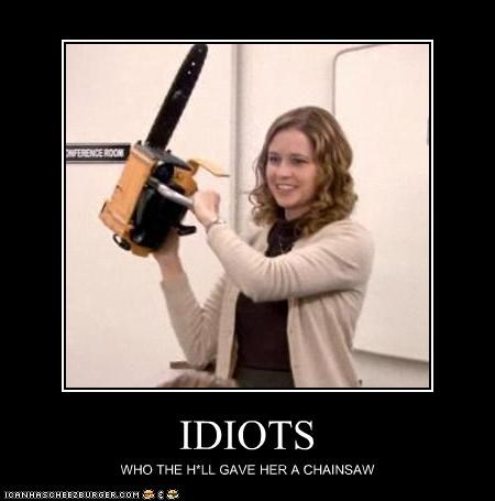 IDIOTS - Cheezburger - Funny Memes | Funny Pictures
