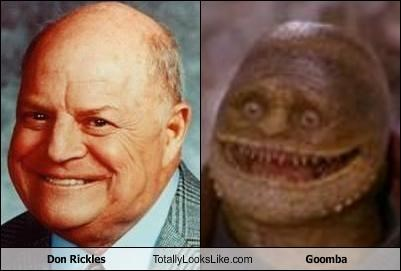 comedians don rickles goomba movies nintendo super mario brothers video games