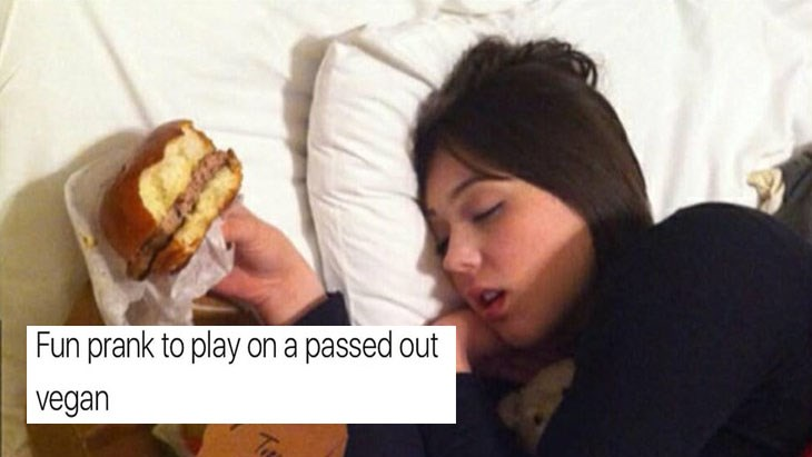 Collection of funny memes about prom, dating, star wars, dogs, depression, hipsters.