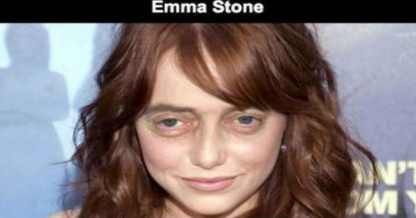 Steve Buscemi's face photoshopped on a bunch of famous women results in a whole lot of creepiness.