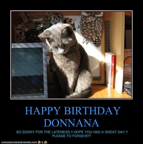 HAPPY BIRTHDAY DONNANA