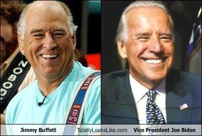Jimmy Buffett Totally Looks Like Vice President Joe Biden