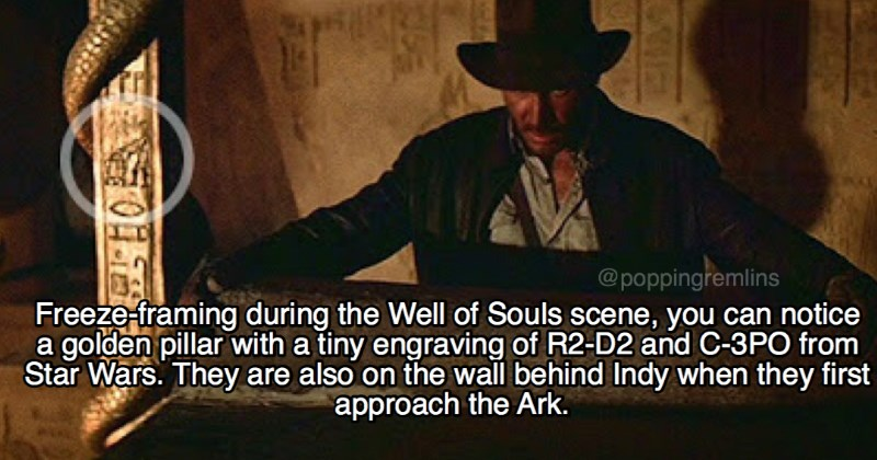 indiana jones raiders of the lost ark fun facts