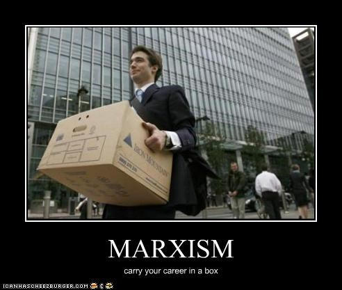 MARXISM carry your career in a box