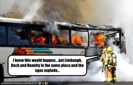 fire firefighters glenn beck Rush Limbaugh sean hannity