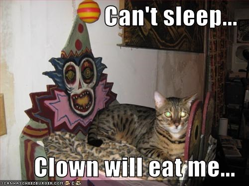 clown,scared