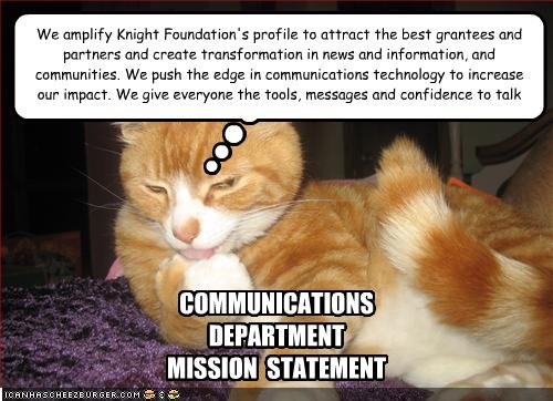 COMMUNICATIONS  DEPARTMENT MISSION  STATEMENT