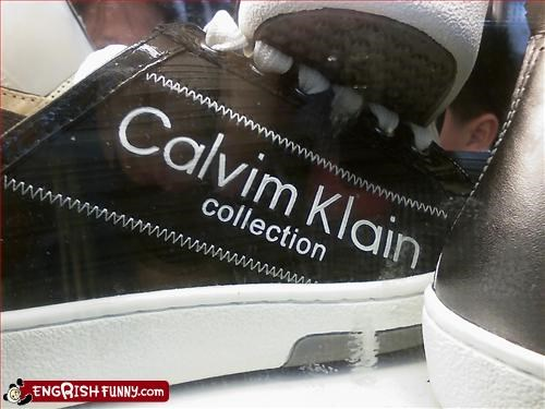 calvin klein,celebrity brands,g rated,knock offs,shoes
