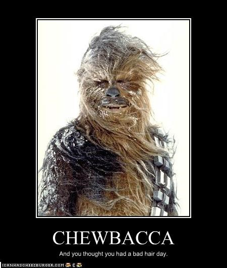 chewbacca hair movies Peter Mayhew snow star wars - 2116009216