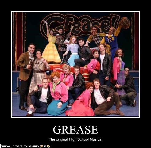 grease high school musical musicals - 2118697728