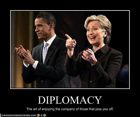 barack obama,democrats,diplomacy,Hillary Clinton,president,secretary of state