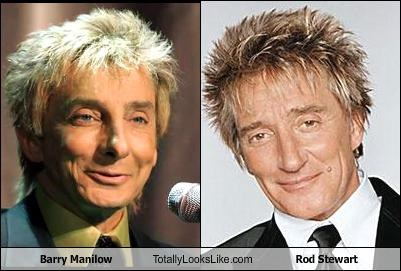 Barry Manilow Music rod stewart singers