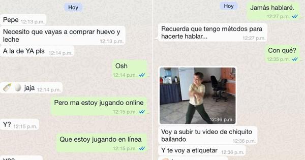 conversaciones padres hijos