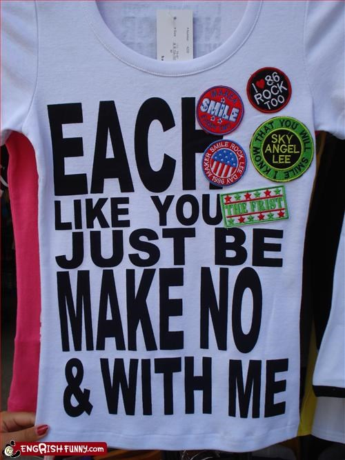 clothing,like,make,me,no,nonsense,T.Shirt