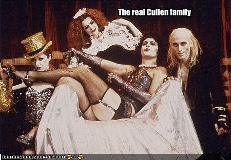 Cleverness Here The real Cullen family