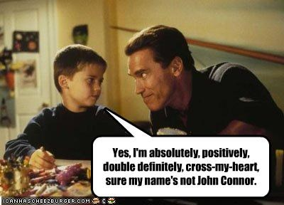 Arnold Schwarzenegger john connor kids The Terminator - 2132386560
