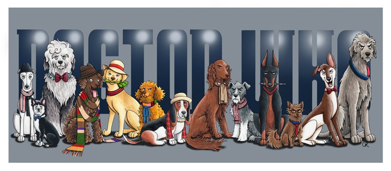 doctor who dogs Fan Art - 213253