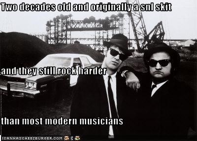 dan aykroyd jake and elwood blues john belushi Music saturday night live SNL the blues brothers - 2134601472