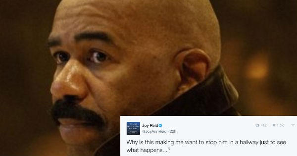 Steve Harvey sends out mass email that calls for ridiculous boundaries with his dressing room at work.