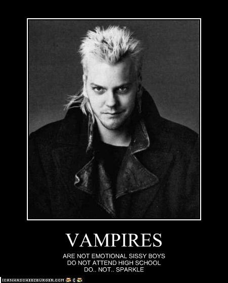 keifer sutherland,sissy,Sparkle,the lost boys,twilight,vampires