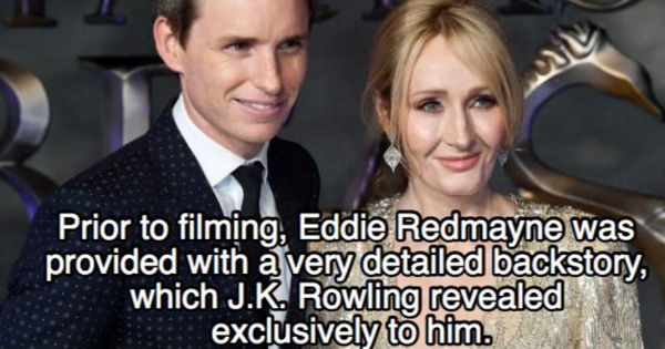Harry Potter Fun Fact jk rowling trivia