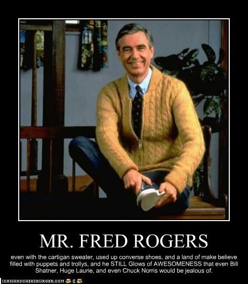 Mr Fred Rogers Cheezburger Funny Memes Funny Pictures