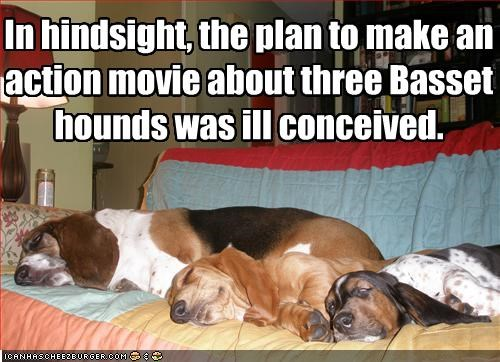 basset hound couch FAIL lazy movies sleeping - 2152797440
