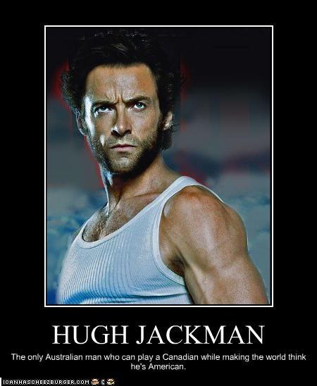 american,australia,Canada,hugh jackman,wolverine