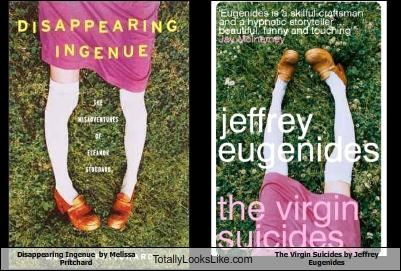 book covers,books,jeffrey eugenides,melissa pritchard,the virgin suicides