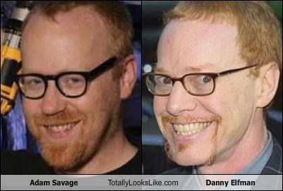 adam savage,composer,danny elfman,mythbusters,TV