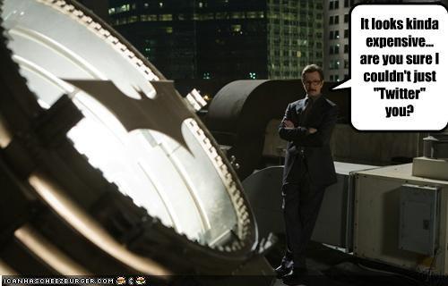 batman batsignal commissioner gordon Gary Oldman internet twitter