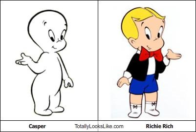 animation,cartoons,casper,Harvey comics,richie rich