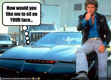 cars david hasselhoff kitt knight rider TV - 2158978816