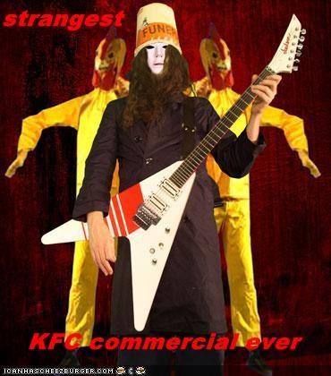 Buckethead food guitarist kfc musician restaurant - 2162675456