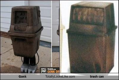 droid garbage gonk star wars trash can - 2166567680
