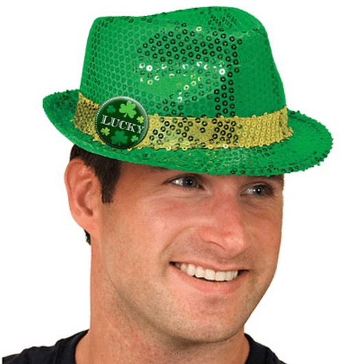 poorly dressed,St Patrick's Day,hats,t shirts