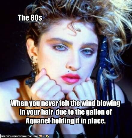 80s big hair Madonna Music - 2186517248