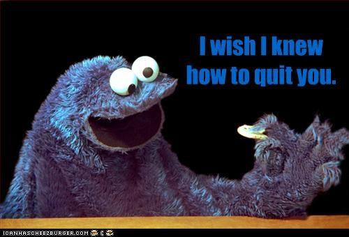 brokeback mountain Cookie Monster cookies muppets Sesame Street - 2188581632
