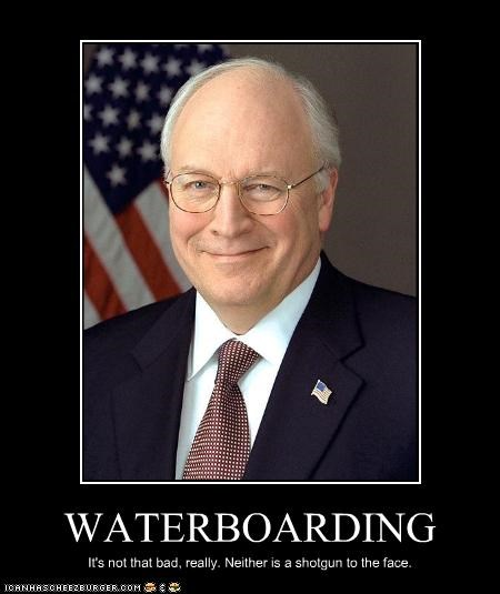 Dick Cheney,guns,Republicans,vice president,waterboarding