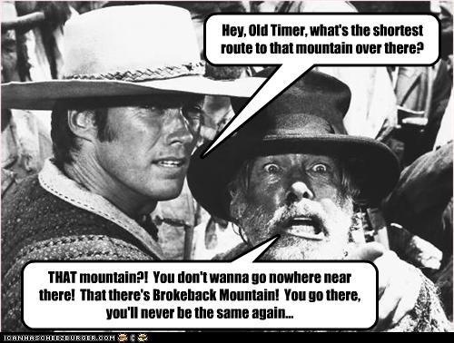brokeback mountain Clint Eastwood gay homophobia movies westerns - 2193609984