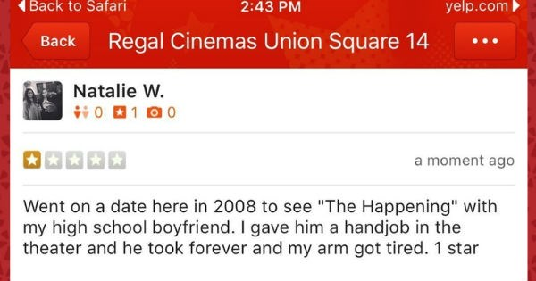 Top ten times people left crazy Yelp reviews.