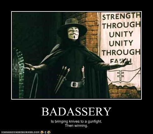 action movies,Badass,guns,Hugo Weaving,knives,scientology,v for vendetta