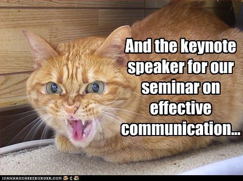 And The Keynote Speaker For Our Seminar On Effective Communication