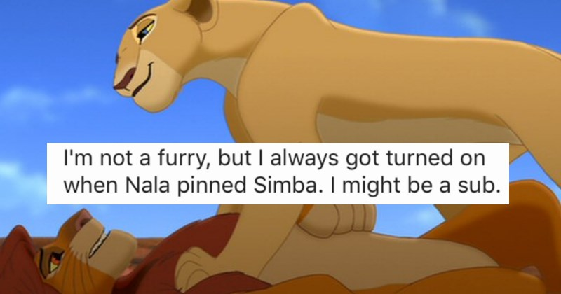 People share their most twisted Disney character sexual fantasies and things escalate quickly. - cover images of Disney characters re-imagined as normal people along with examples.