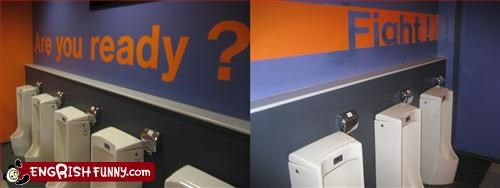 bathroom,fight,painting,signs,urinals