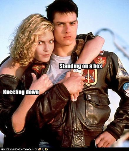 gay,kelly mcgillis,short,tall,Tom Cruise,top gun
