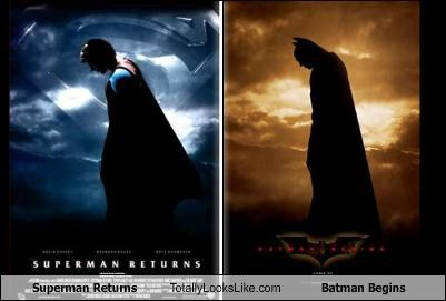 advertising batman DVD movies poster superman