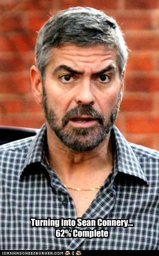 george clooney,lookalike,movies,sean connery